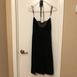 Unyx Halter Top Rhinestone Dress